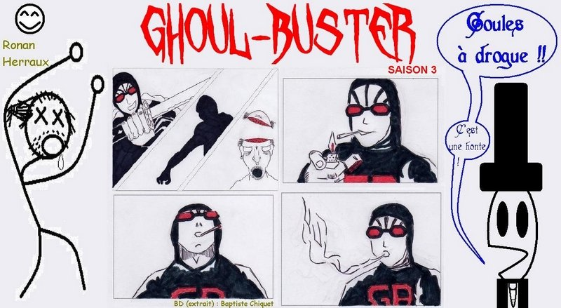 Ghoul-Buster saison 3